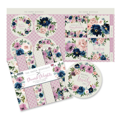 The Paper Boutique - Damask Delights - Paper Kit
