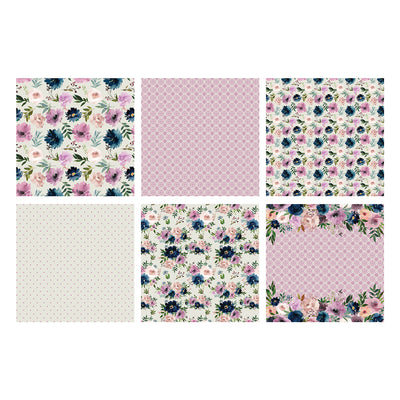 The Paper Boutique - Damask Delights - 8 x 8 Paper Pad