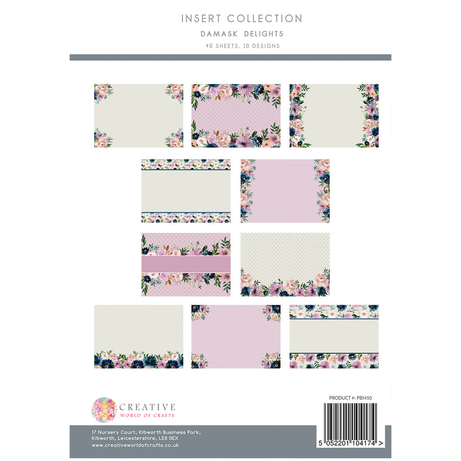 The Paper Boutique - Damask Delights - Insert Collection