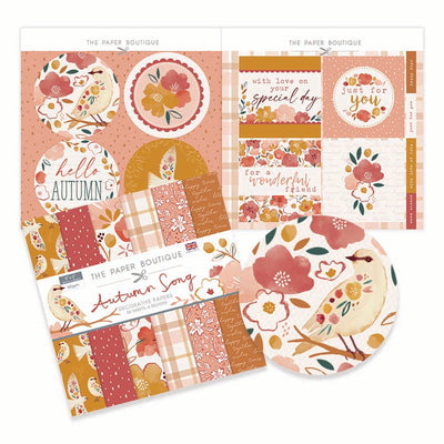 The Paper Boutique - Autumn Song - Paper Kit