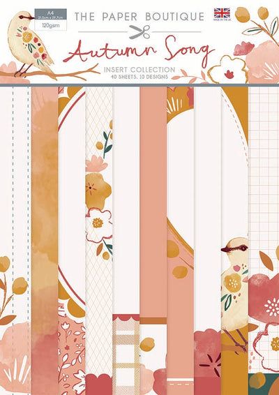 The Paper Boutique - Autumn Song - Insert Collection