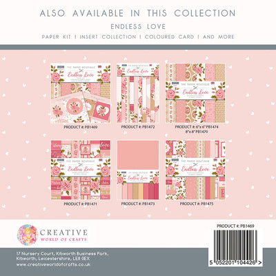 The Paper Boutique - Endless Love - Paper Kit