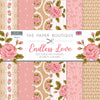 The Paper Boutique - Endless Love - 8 x 8 Paper Pad