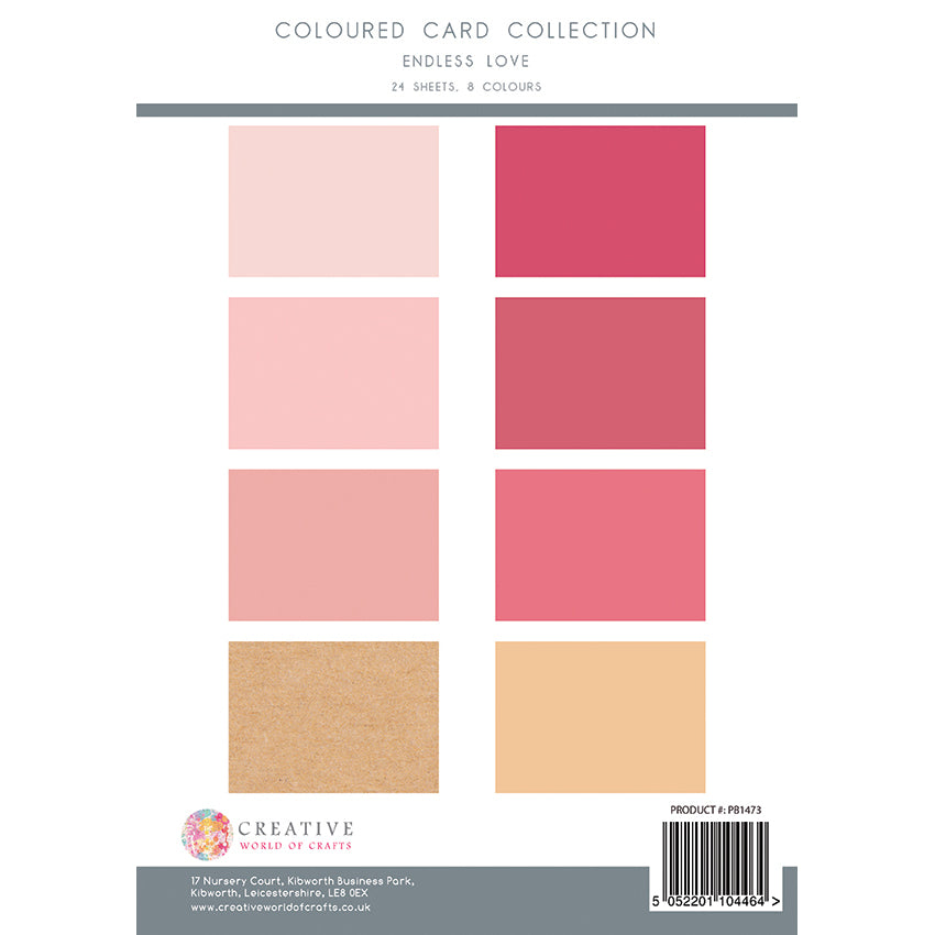 The Paper Boutique - Endless Love - Colour Card Collection