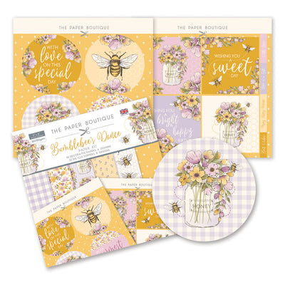 The Paper Boutique - Bumblebees Dance - Paper Kit