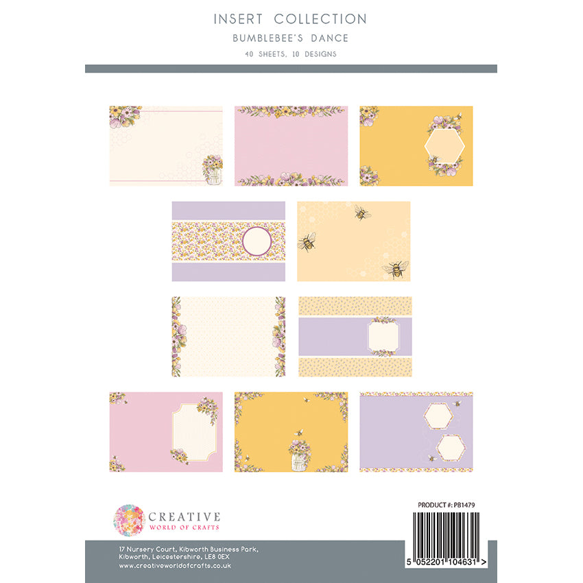 The Paper Boutique - Bumblebees Dance - Insert Collection