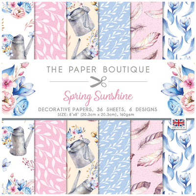 The Paper Boutique - Spring Sunshine - 8 x 8 Paper Pad
