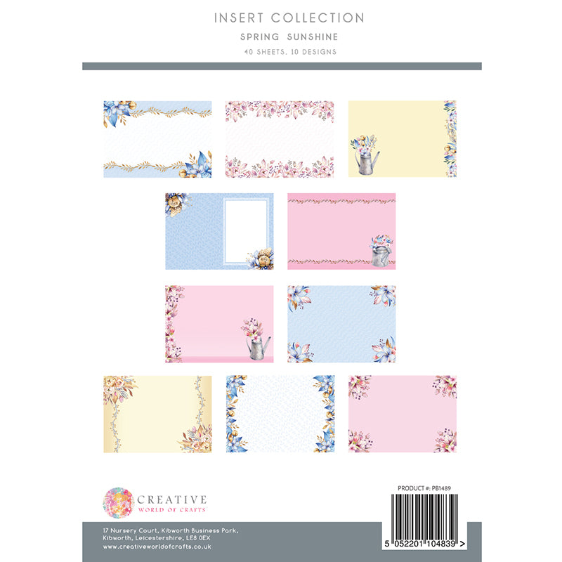 The Paper Boutique - Spring Sunshine - Insert Collection