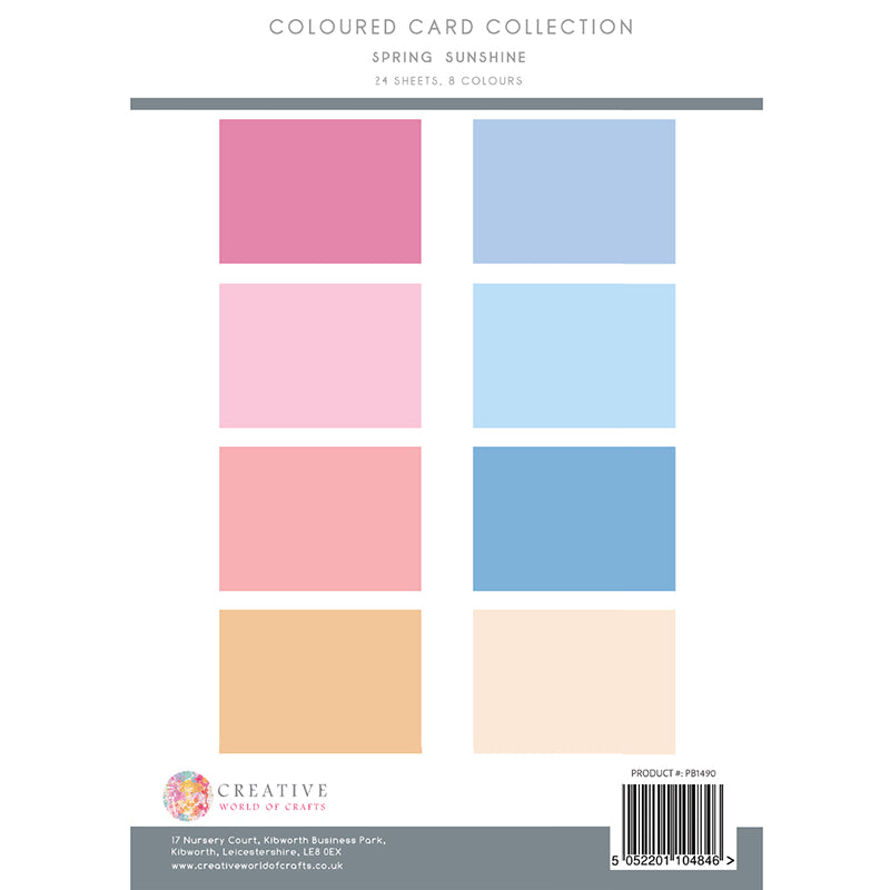 The Paper Boutique - Spring Sunshine - Colour Card Collection