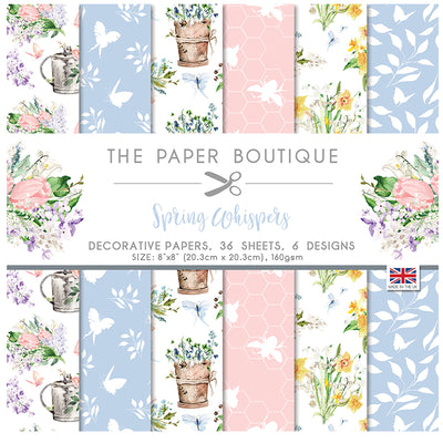 The Paper Boutique - Spring Whispers - 8 x 8 Paper Pad