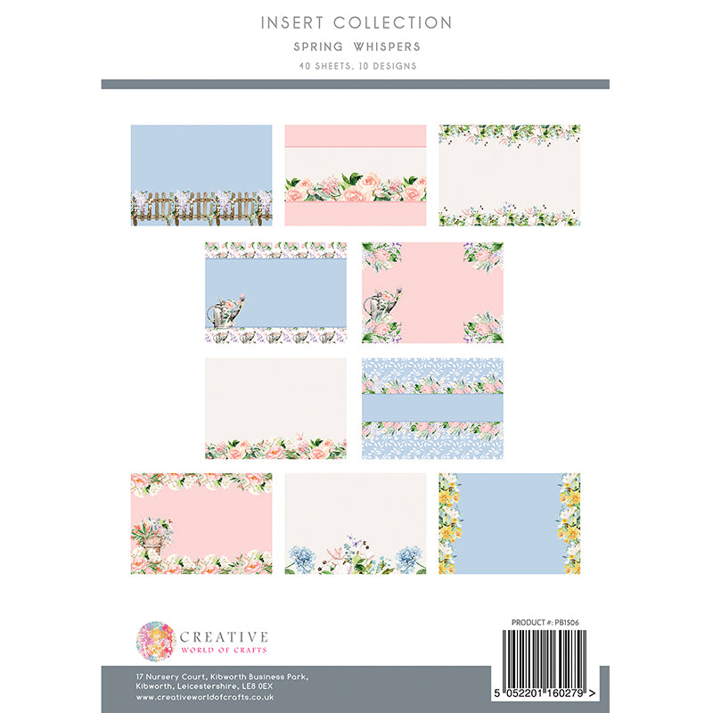 The Paper Boutique - Spring Whispers - Insert Collection