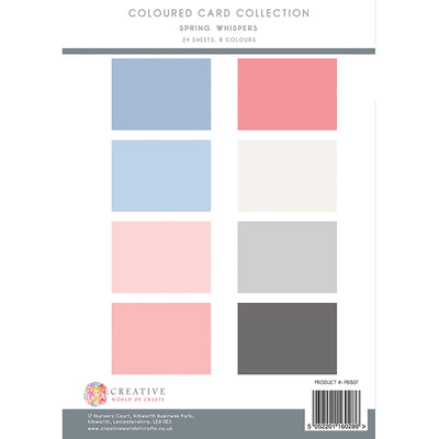 The Paper Boutique - Spring Whispers - Colour Card Collection
