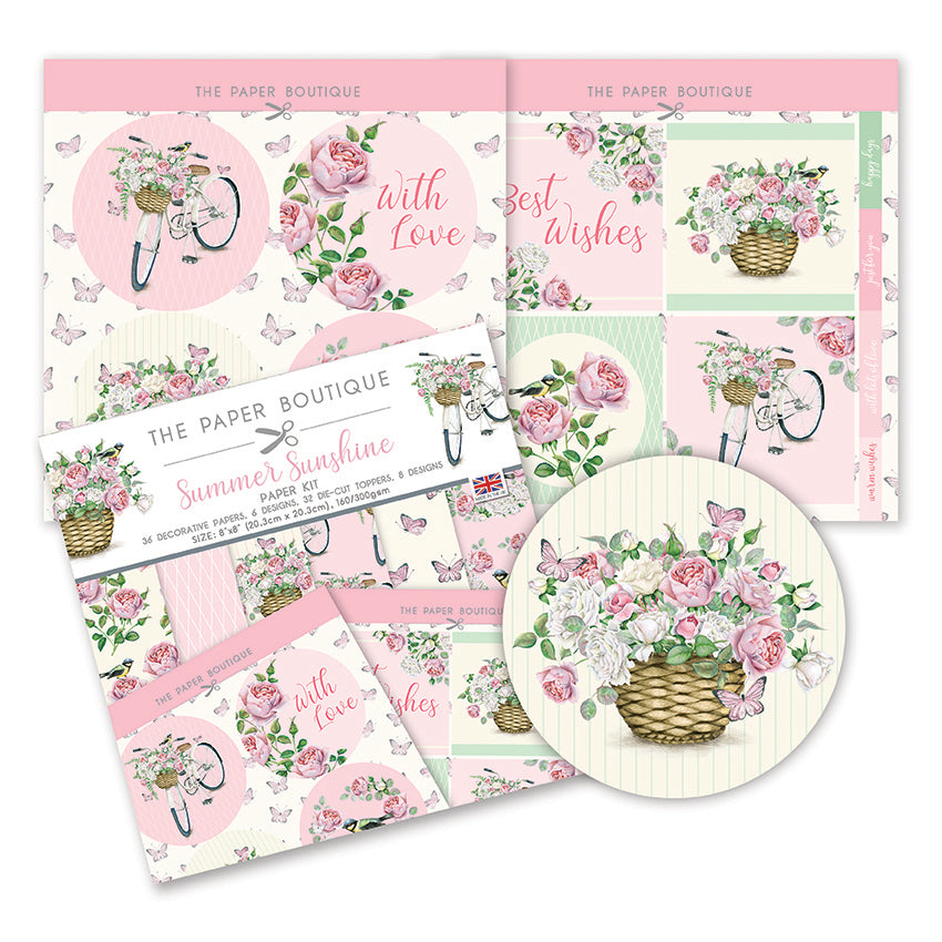 The Paper Boutique - Summer Sunshine - Paper Kit