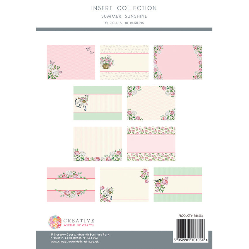 The Paper Boutique - Summer Sunshine - Insert Collection