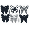 The Paper Boutique Dies - Butterfly Trio Cutting Dies Collection - PBD1109