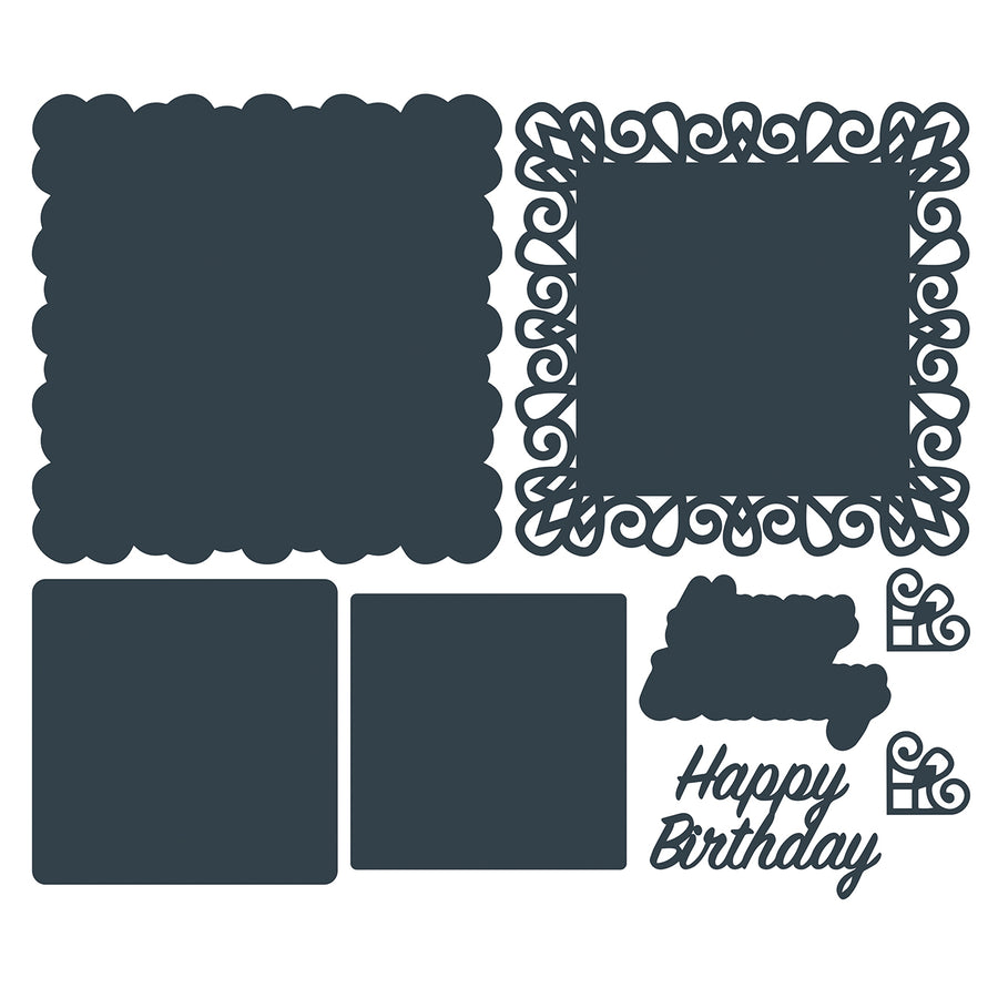 The Paper Boutique Die - Happy Birthday - PBDC1102