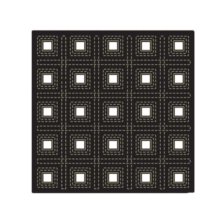 John Next Door - Presscut Multi Layer Die - Squares Layer C