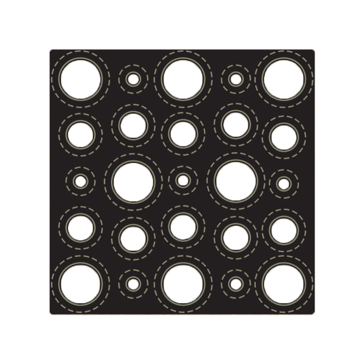 John Next Door - Presscut Multi Layer Die - Circles Layer B
