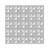 Presscut 3D Embossing Folder - Quilted Blocks