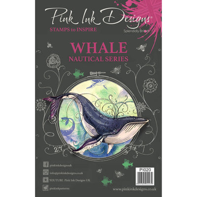 Pink Ink Designs Stamp - Whale