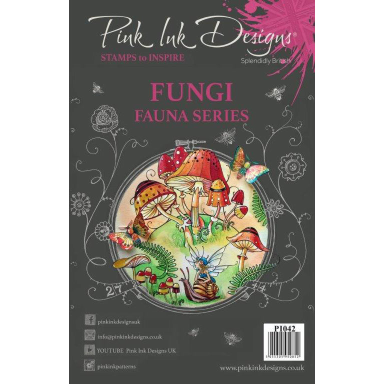 Pink Ink Designs Stamp - Fungi