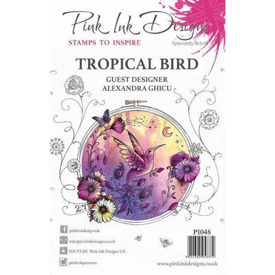 Pink Ink Designs Stamp - Tropical Bird