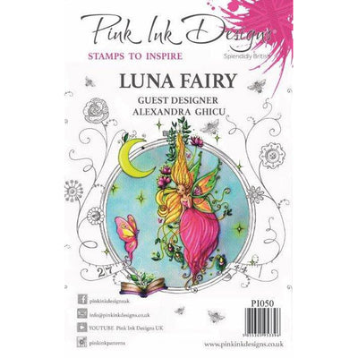 Pink Ink Designs Stamp - Luna Fairy