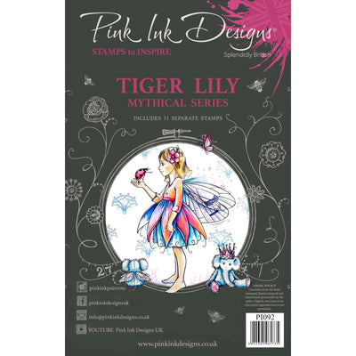 Pink Ink Designs Stamp - Tiger Lily