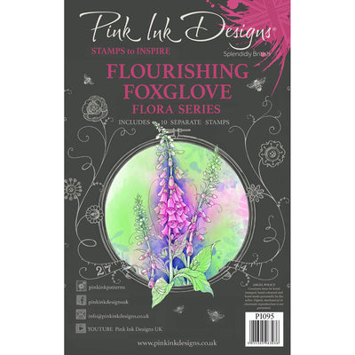Pink Ink Designs Stamp - Flourishing Foxglove