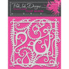 "Pink Ink 8""x 8"" Stencil - Tulip Bloom - PINKST009"