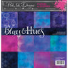 Pink Ink Designs - Blues & Hues  - 8 in x 8 in Paper Pad