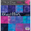 Pink Ink Designs - Blues & Hues  - 12 in x 12 in Paper Pad