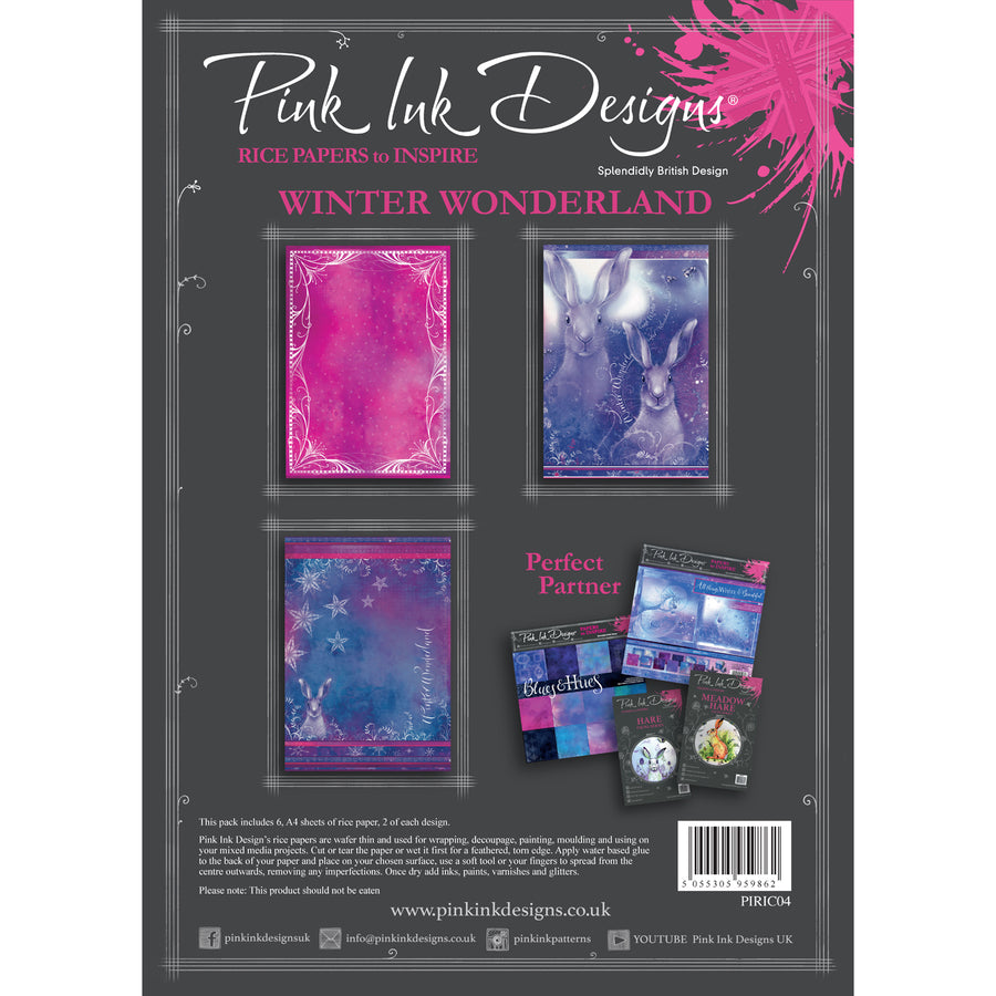 Pink Ink Designs - Winter Wonderland - A4 Rice Paper