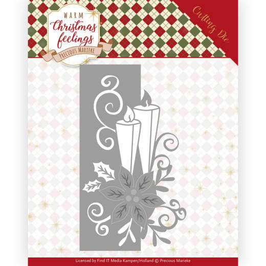 Precious Marieke Die - Warm Christmas Feeling - Candle Edge