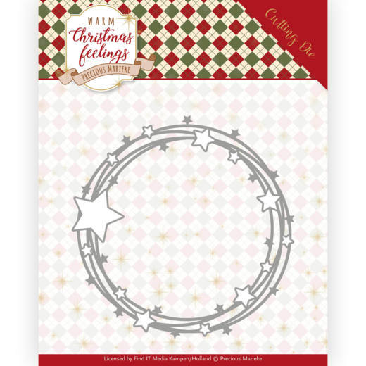 Precious Marieke Die - Warm Christmas Feeling - Star Circle