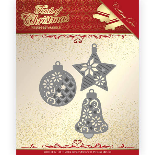 Precious Marieke Die - Touch of Christmas - Christmas Baubles