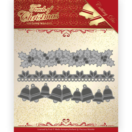 Precious Marieke Die - Touch of Christmas - Christmas Borders