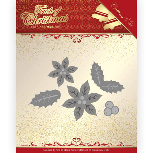 Precious Marieke Die - Touch of Christmas - Poinsettia