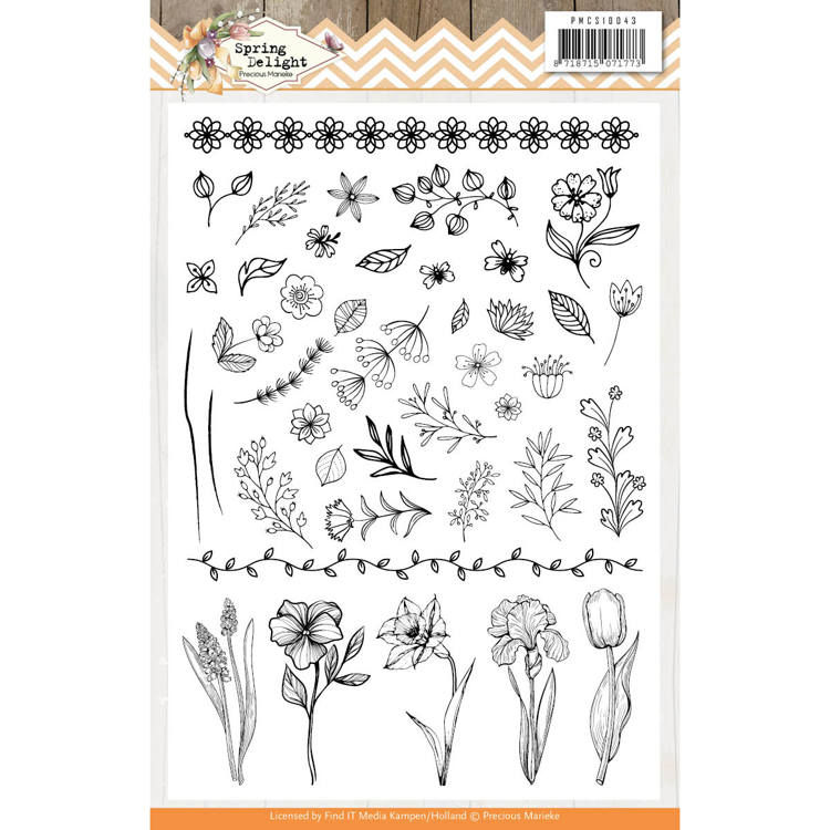 Precious Marieke Stamp - Spring Delight - Clear Stamp