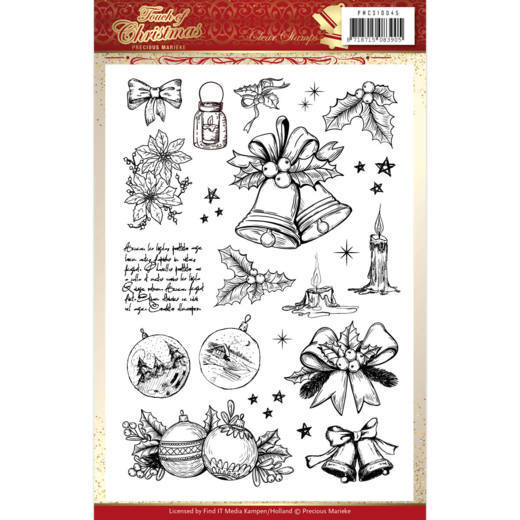Precious Marieke Stamp - Touch of Christmas - Clear Stamp