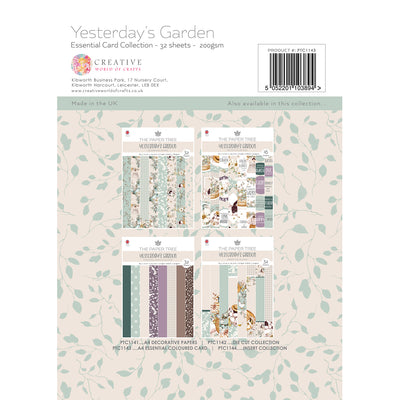 Paper Tree - Yesterdays Garden - A4 Essential Coloured Card - PTC1143