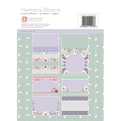 Paper Tree - Harmony Blooms - A4 Insert Collection - PTC1149