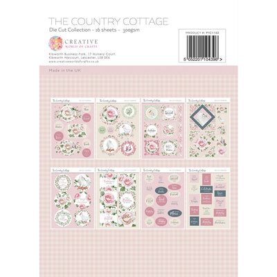 Paper Tree - The Country Cottage - A4 Die Cut Collection - PTC1152