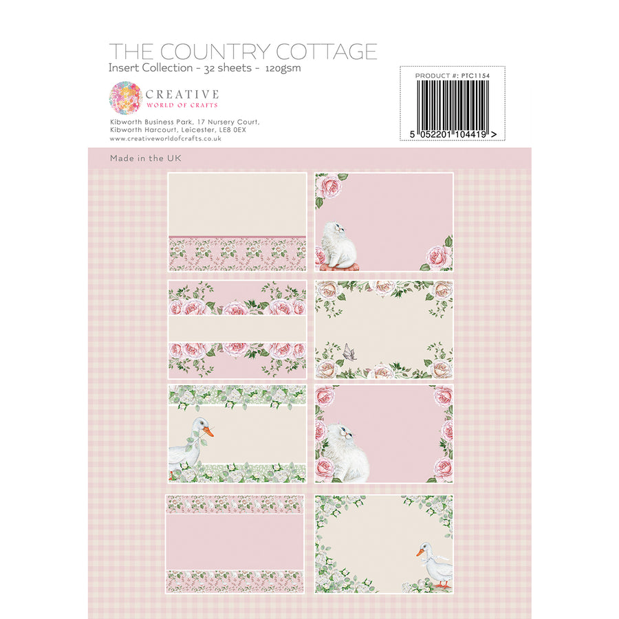 Paper Tree - The Country Cottage - A4 Insert Collection - PTC1154