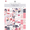 The Paper Tree - Pretty Petals - A4 Die Cut Collection - PTC1156
