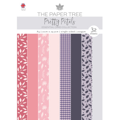 The Paper Tree - Pretty Petals - A4 Essential Coloured Card - PTC1157