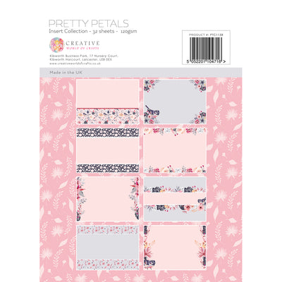 The Paper Tree - Pretty Petals - A4 Insert Collection - PTC1158
