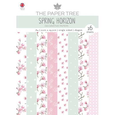 The Paper Tree - Spring Horizon - A4 Backing Papers - PTC1159