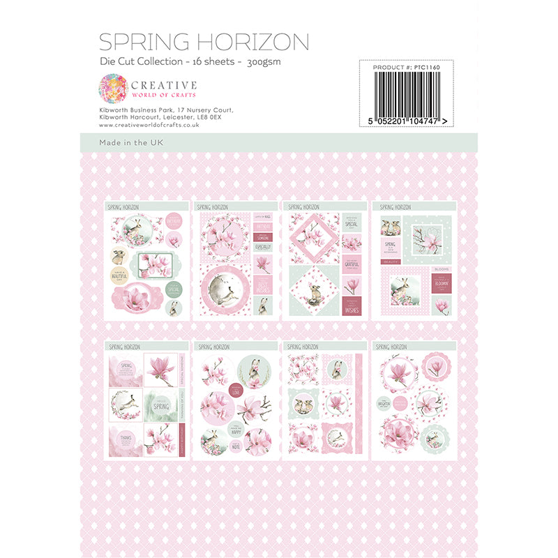 The Paper Tree - Spring Horizon - A4 Die Cut Collection - PTC1160