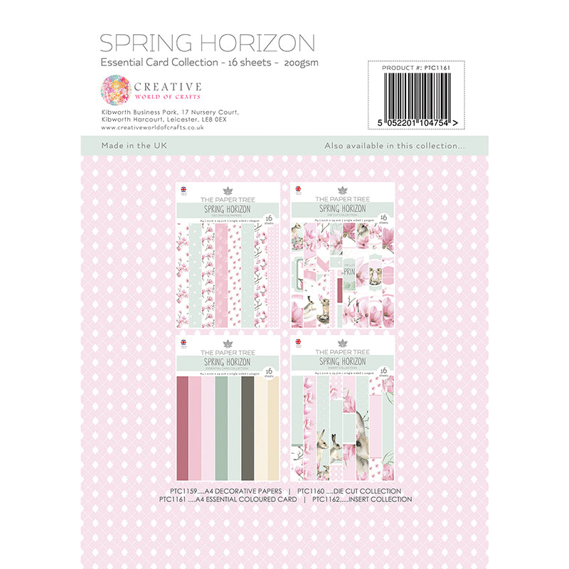The Paper Tree - Spring Horizon - A4 Essential Coloured Card - PTC1161